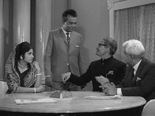 Prema, Madan, Rai Saheb and the lawyer