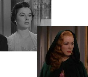 Ruth Roman and Eleanor Parker