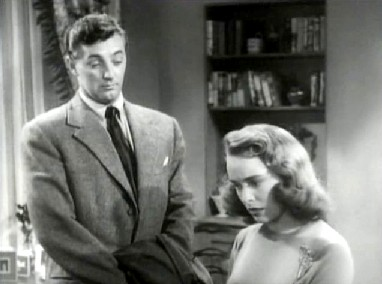 Robert Mitchum and Janet Leigh in Holiday Affair