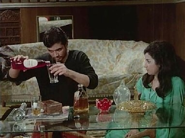 Roy and Rekha have a drink