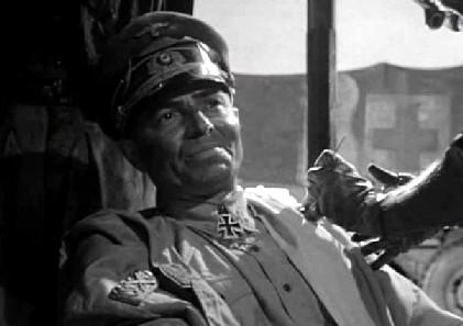 James Mason as Erwin Rommel