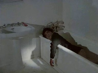 The corpse in the bathtub