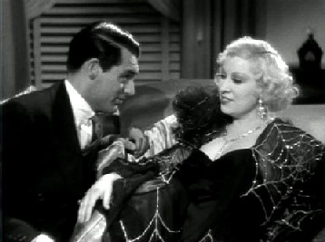 Cary Grant and Mae West in I'm No Angel