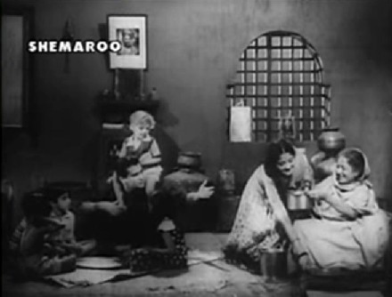 Ramu, his mother and siblings