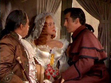 Moreau confronts Lenore and her bridegroom