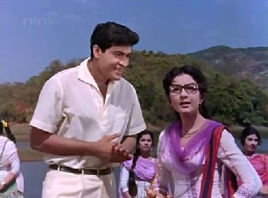 Tabassum with Joy Mukherji in Phir Wohi Dil Laya Hoon