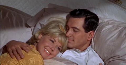 Rock Hudson and Doris Day in Send Me No Flowers