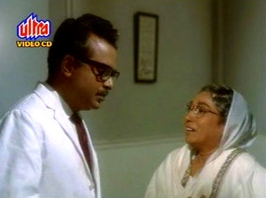 Dr Roy breaks the bad news to Gayatri Devi