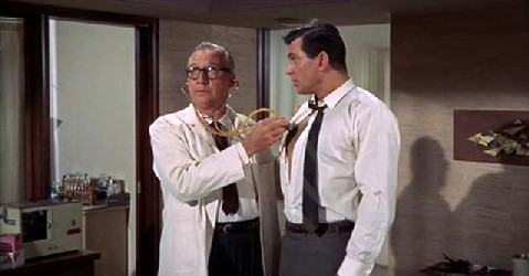 George meets his doctor, Ralph Morrisey