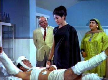 The doctor, his wife, Shobha and Bahadur