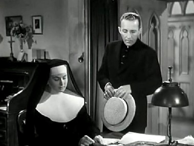 Father O'Malley talks to Sister Benedict about Patsy