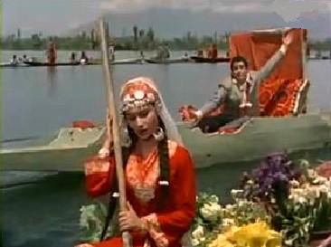 Sharmila Tagore and Shammi Kapoor in Kashmir ki Kali