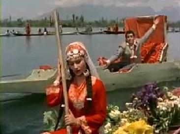 Sharmila Tagore and Shammi Kapoor in Kashmir ki Kali