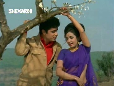 Sanjay Khan and Nanda in Beti