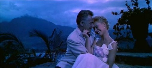 Rossano Brazzi and Mitzi Gaynor in South Pacific