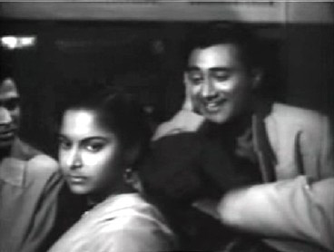 Dev Anand and Waheeda Rehman in Solvaan Saal