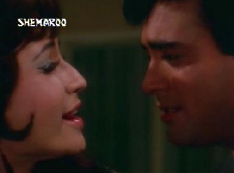 Sanjeev Kumar and Helen in Shikar