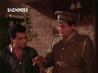 Ajay and Inspector Rai examine the evidence