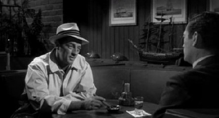 Robert Mitchum and Gregory Peck in Cape Fear