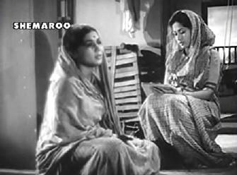 Meena Kumari in Do Bigha Zameen