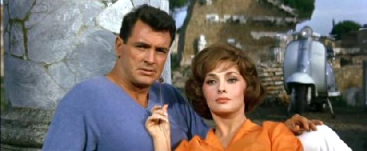 Rock Hudson and Gina Lollobrigida in Come September