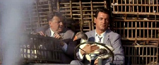 Walter Slezak and Rock Hudson in Come September