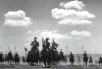 The charge of the 27th Lancers