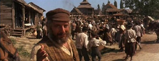 Tevye and the people of Anatevka