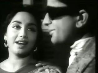 Sadhana and Shashi Kapoor in Prem Patra