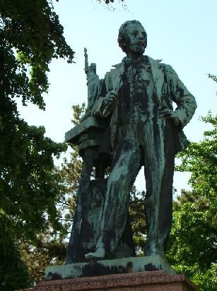 Bartholdi's statue in Colmar