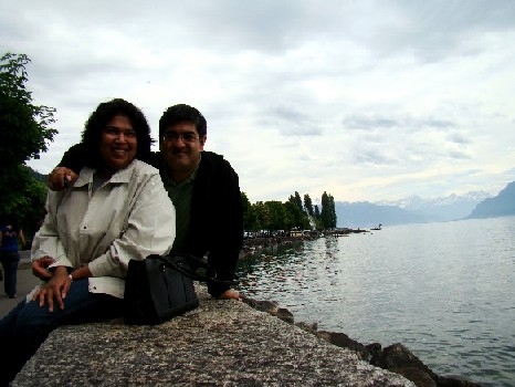 At Lutry, on Lac Leman