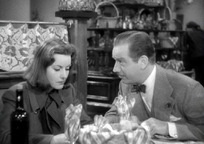 Leon tries his charm on Ninotchka