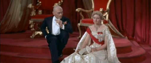 Yul Brynner and Ingrid Bergman in Anastasia