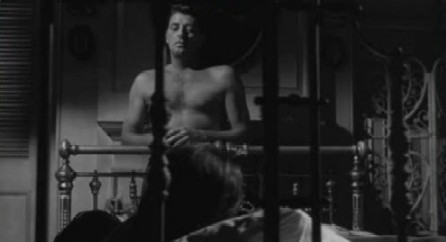 Mitchum as Max Cady in Cape Fear