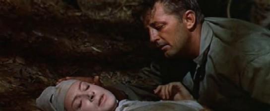 Mitchum as Corporal Allison in Heaven Knows, Mr Allison
