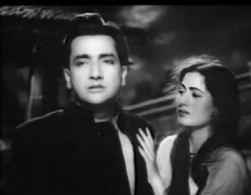 Bharatbhushan and Madhubala in Barsaat ki Raat