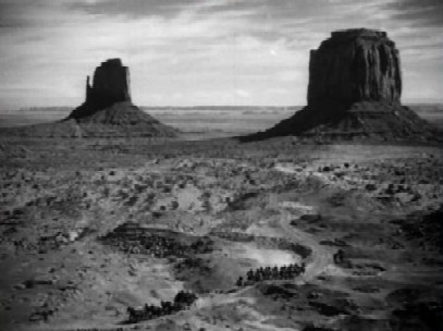 Monument Valley, setting of Stagecoach