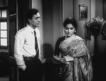 Balraj Sahni with Vyjyantimala in Kathputli