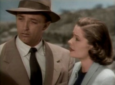 Mitchum as Duke Halliday in The Big Steal