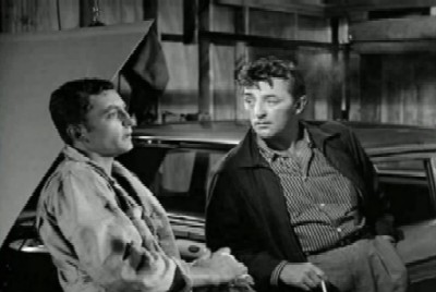 Mitchum as Lucas Doolin in Thunder Road