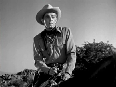 Mitchum in West of the Pecos