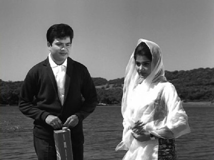 Deepak meets a mysterious girl by the lake