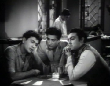 Ranjeet, Pradeep and Mohan in the Janata Coffee House