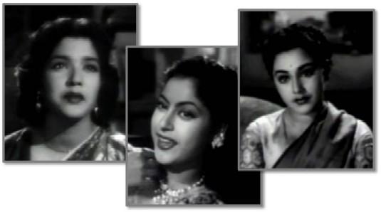 Shbuha Khote, Anita Guha and Ameeta in Dekh Kabira Roya