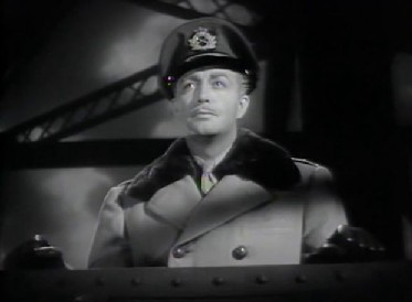 Colonel Roy Cronin stops by on Waterloo Bridge...