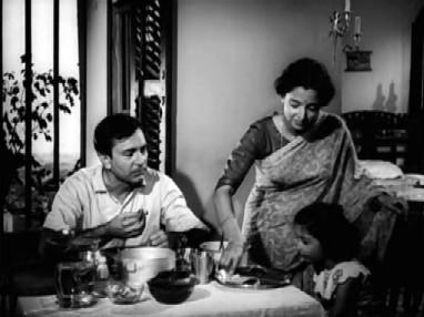 Nirmal, Anuradha and Ranu at home