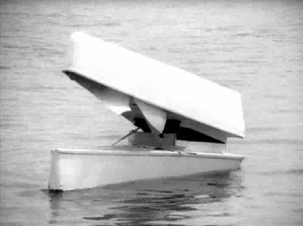 Mr Hulot has an accident in his kayak