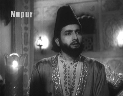 Bharat Bhushan in and as Mirza Ghalib