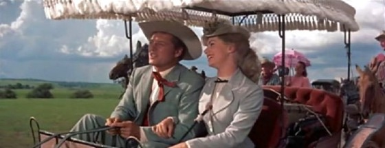 Gordon MacRae and Shirley Jones in Oklahoma!