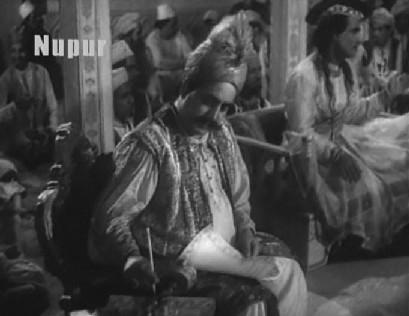 The kotwal transcribes Ghalib's ghazals